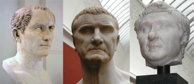 First_Triumvirate_of_Caesar,_Crassius_and_Pompey