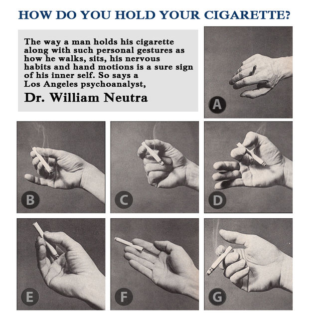 How Do You Hold Your Cigarette? | Frank Davis