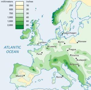 rainfall_europe
