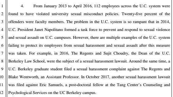 Stanton Glantz Faces Sexual Harassment Lawsuit   Frank Davis